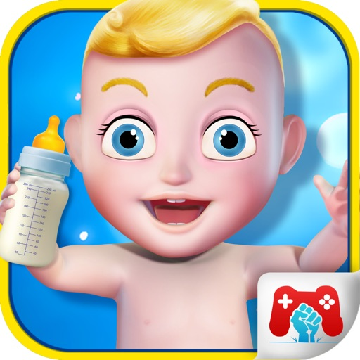 3D New Born Baby icon