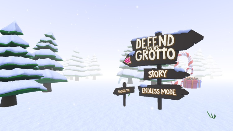 Defend Santas Grotto