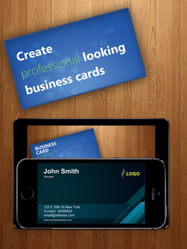 Business Card Studio Designer - Graphic Creator, Editor & Maker with ...