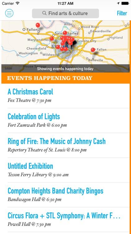 RAC Arts & Events Calendar