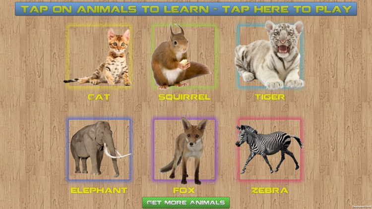 Sound Puzzle With Animals Free