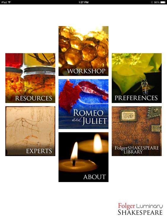 Romeo & Juliet: Folger Luminary Shakespeare