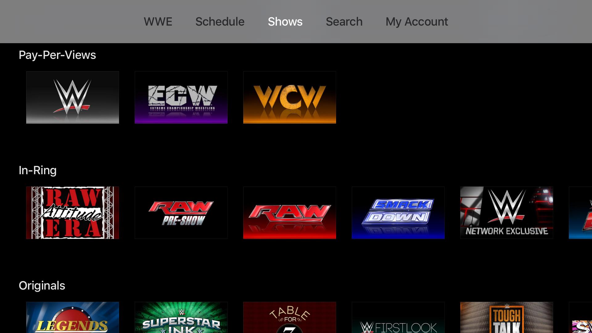 WWE screenshot 14