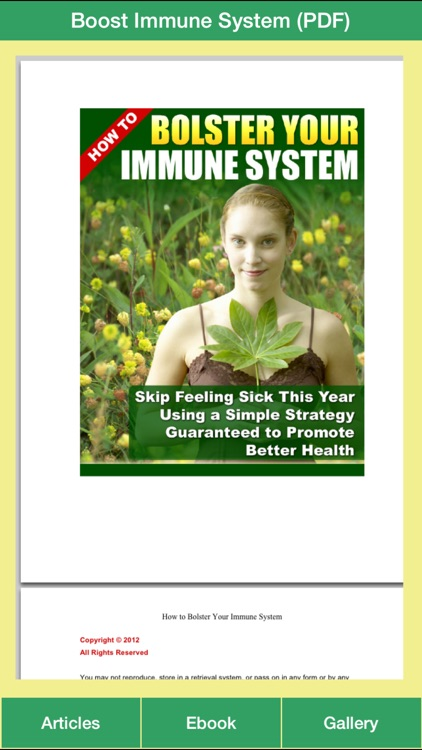 Immune System Guide - Have a Better Health Using Simple Strategy!
