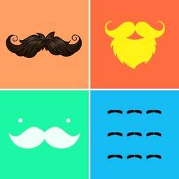 Mustache Wallpapers & Backgrounds Pro - Home Screen Maker with Cool Beard Icon Themes
