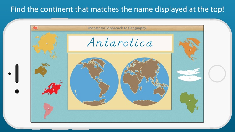 World Continents and Oceans - A Montessori Approach To Geography screenshot-3