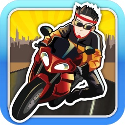 Baron Biker : Get The Ace Bike Rider To The Highway Race