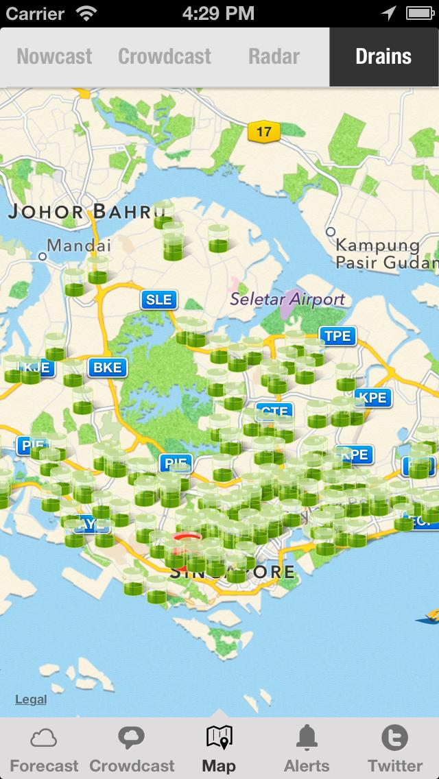 WeatherLah: Singapore Weather App with PSI Trend Widgetのおすすめ画像2