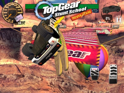 Top Gear: Stunt School Revolution для iPad
