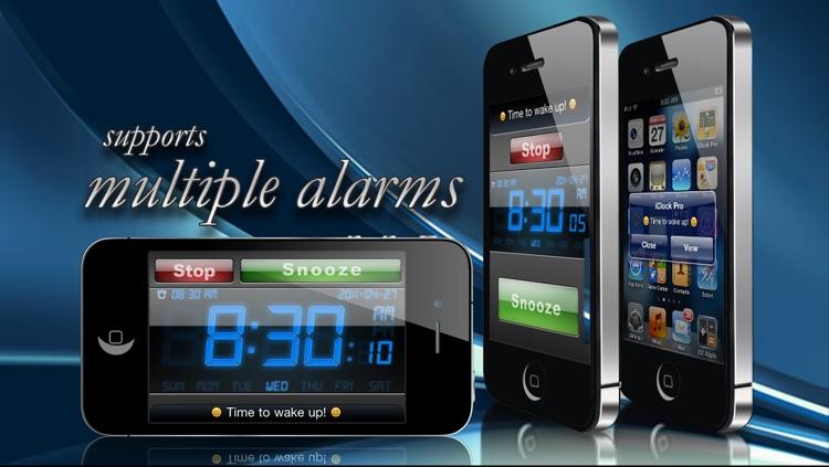 Alarm Clock Xtrm Wake & Rise Pro HD Free - Weather + Music Player