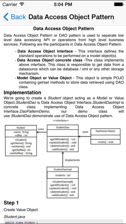 Design Patterns for Java/J2EE