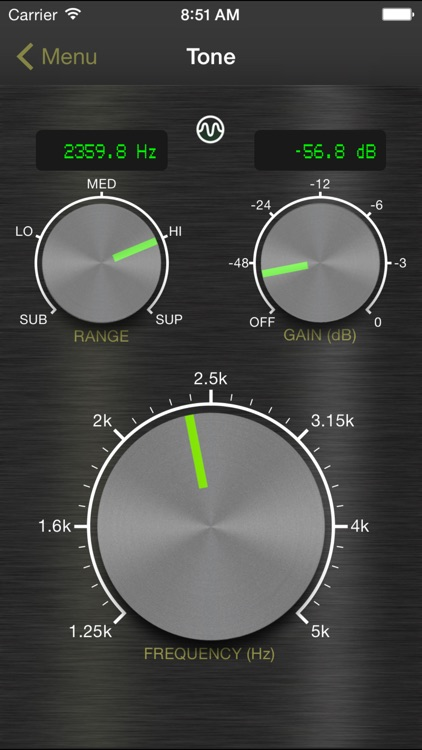 Signal Generator: Audio Test Tone Utility screenshot-0