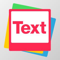 Text on Photos