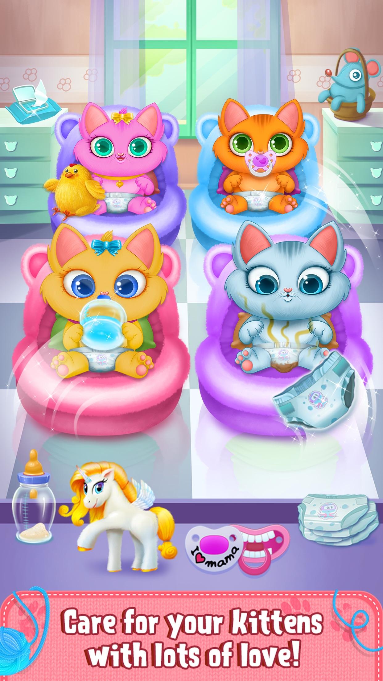 My Newborn Kitty - Fluffy Care Screenshot
