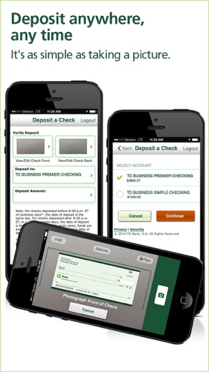 Td bank businessdirect on the app store colourmoves Images