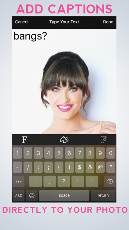Hairstyle Makeover Premium - Use your camera to try on a new hairstyle screenshot-3