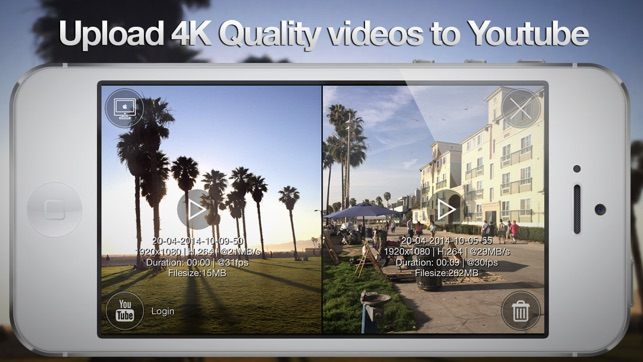 Ultrakam 4k. The Professional Camera App. Screenshot
