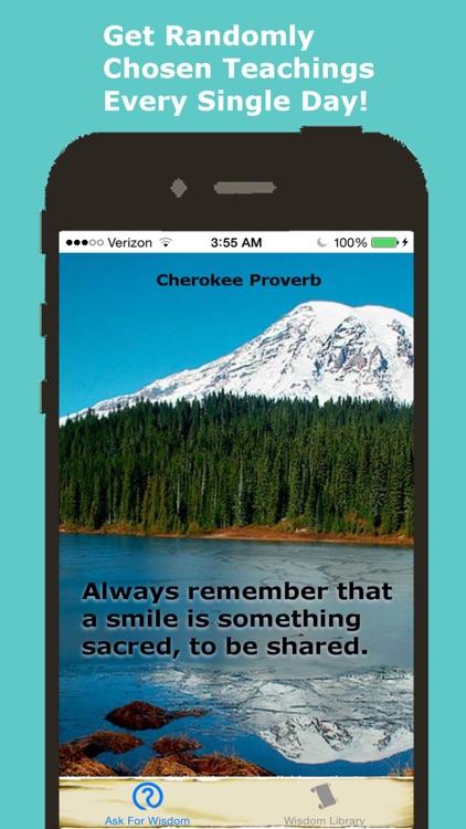 Native American Daily Wisdom screenshot-4
