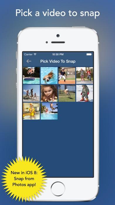SnapStill - Extract Photos From Video app image
