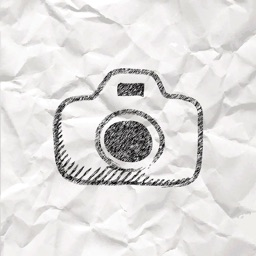 Paper Cam+ Photo Video Camera with paper effect filter