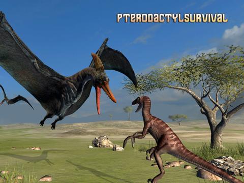 Pterodactyl Survival Simulator на iPad