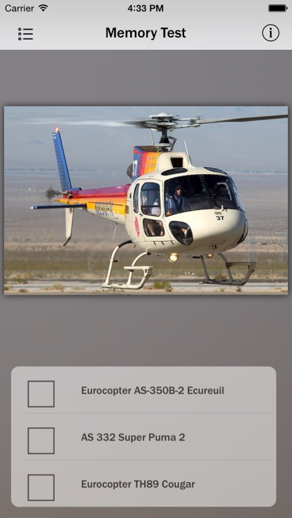 Eurocopter Info screenshot-2
