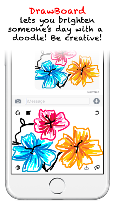DrawBoard - Keyboard for Doodling! screenshot two