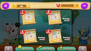 BINGO Casino Game to Play your Luck and Win the Jackpot with Animals screenshot two