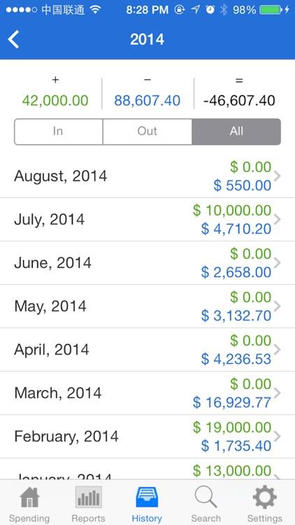 Spending screenshot-3