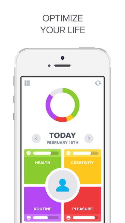 Optimized - Lifelogging and Quantified Self Improvement App