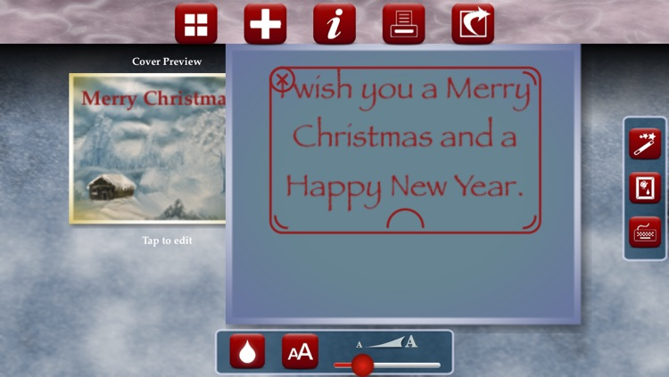 Merry eCard screenshot-2