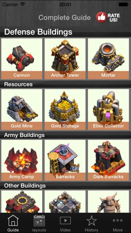 Guide for Coc-Clash of Clans --include Gems Guide,Tips Video,and Strategy-Free Edition