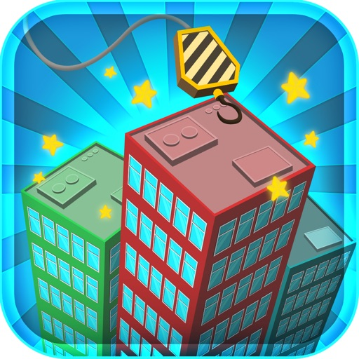 A City High Rise Builder: Super Tower Stacker Story iOS App