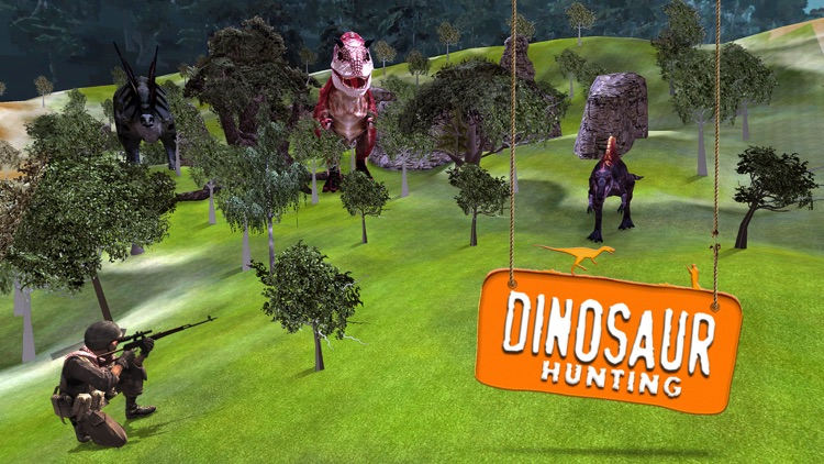 3D Dino Hunter Simulator – A Velociraptor Hunting Simulation Game screenshot-3