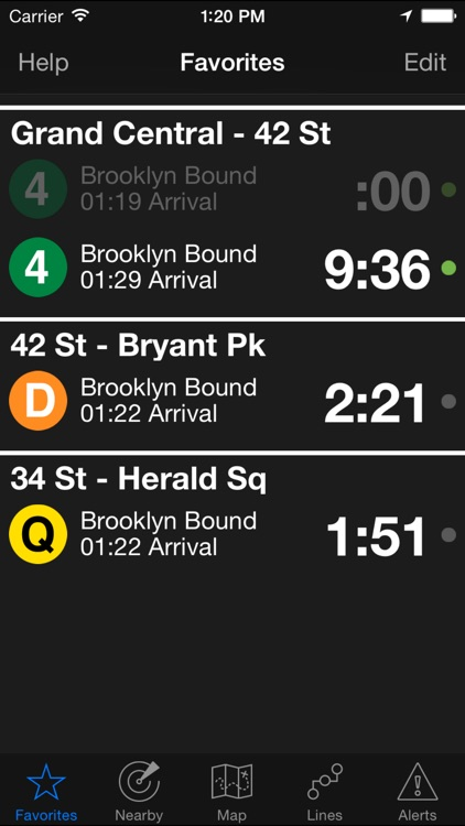 NextStop - NYC Subway screenshot-0