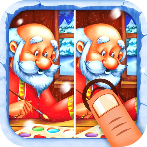 Find Differences Christmas Puzzle