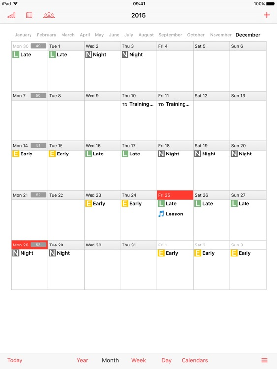 iPlanner HD screenshot-1