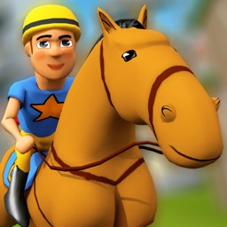 Cartoon Horse Riding Free - Horsemanship Equestrian Race Game
