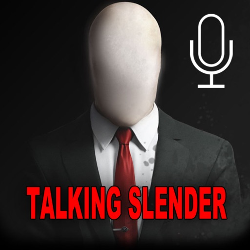 Talking Slender Man - the voice of horror and fear iOS App