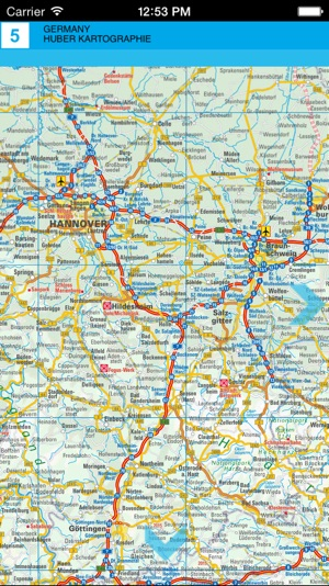 Germany. Road map on the App Store