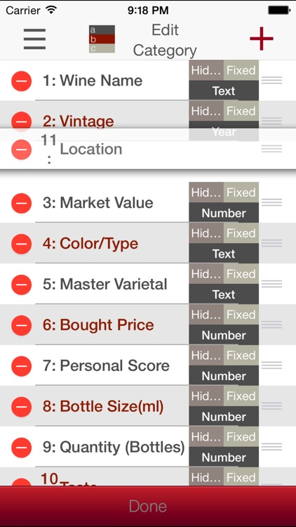 Wine Cellar Database - search and manage your delectable vino winery finder. Rate, track and share your wines screenshot-4