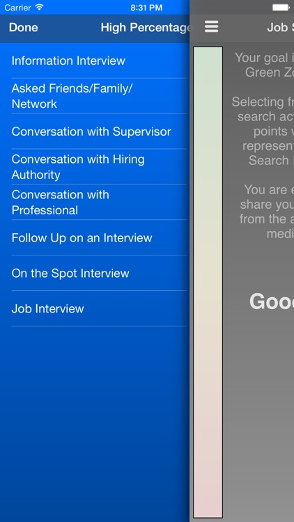 Job Search Power Meter screenshot-3