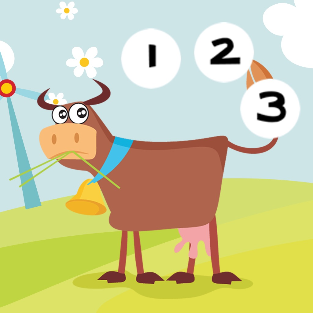 Animals of the Farm Counting Game for Children: Learn to Count Numbers 1-10 hack