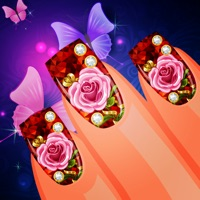 Codes for Fantasy Dress Up Your Floral Nail Salon Hack