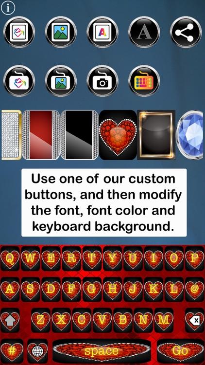 Bling Keys Free Custom Keyboard