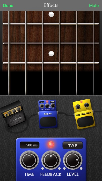 PocketGuitar - Virtual Guitar in Your Pocket