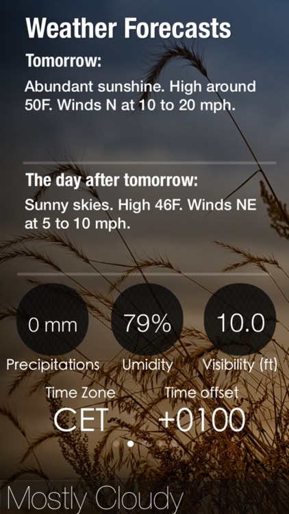 Sunrise PRO - GPS Sunrise and Sunset calculator, with altimeter and weather screenshot-3