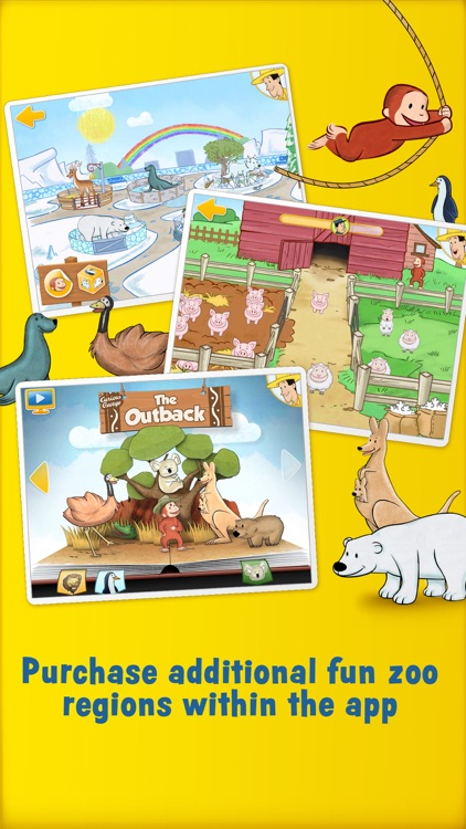 Curious George: Zoo Animals screenshot-4
