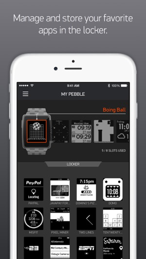 Pebble OLD VERSION on the App Store