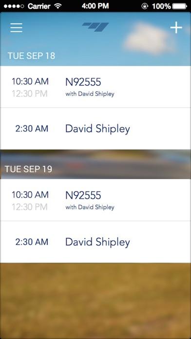 flight schedule
